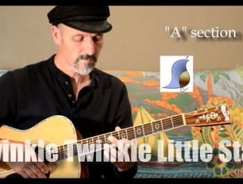 Twinkle Twinkle Little Star – Easy Guitar Lesson