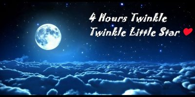 ♪♪♪ Lullaby 4 HOURS ♪♪ Twinkle Twinkle Little Star Instrumental ❤ Baby relaxing music ❤