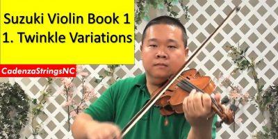 Twinkle Variations | Suzuki Violin Book 1