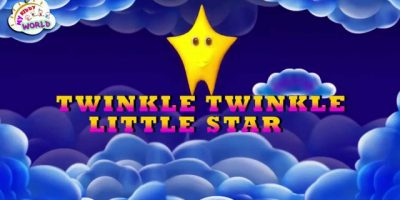 Twinkle Twinkle Little Star in 3D | 3D English Nursery Rhymes For Kids With Lyrics
