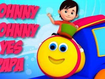 Johny Johny Yes Papa | English Rhymes For Kids | Bob Johny Johny | Kids Songs | Bob The Train