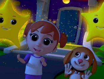 twinkle twinkle little star | nursery rhymes | 3d rhymes | kids songs