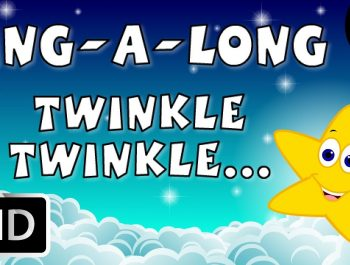 Karaoke: Twinkle Twinkle Little Star – Songs With Lyrics – Cartoon/Animated Rhymes For Kids