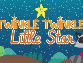Twinkle Twinkle Little Star • Nursery Rhymes Song with Lyrics • Animated Cartoon for Kids