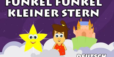 Funkel Funkel Kleiner Stern – Twinkle Twinkle Little Star | German Nursery Rhymes