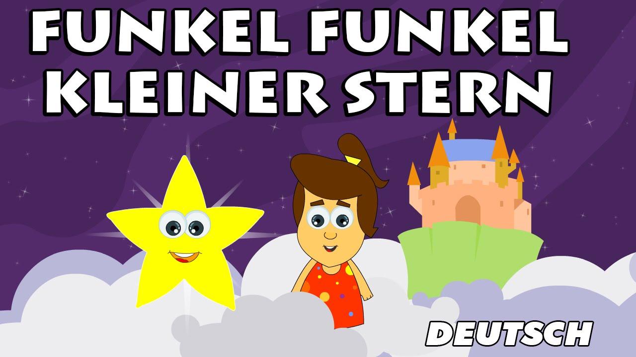 Funkel Funkel Kleiner Stern – Twinkle Twinkle Little Star | German Nursery Rhymes