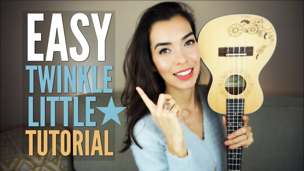 EASY Twinkle Twinkle Little Star for Ukulele (Tutorial)