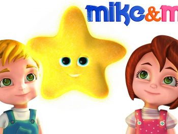 Twinkle Twinkle Little Star | Song for Children | Nursery Rhymes & Kids Songs by Mike & Mia