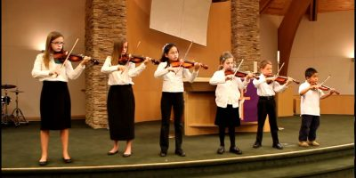 Violin Twinkle Award Twinkle, Twinkle Little Star with variations — March 13, 2011
