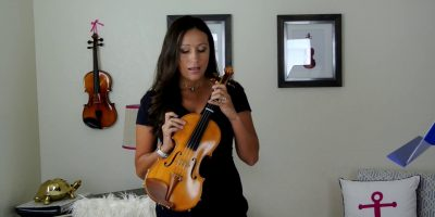 How To Play The Violin Twinkle Twinkle Little Star Suzuki Book 1