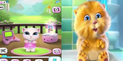 Twinkle Twinkle Little Star | Talking Ginger & Talking Angela | Baby song – Nursery rhymes