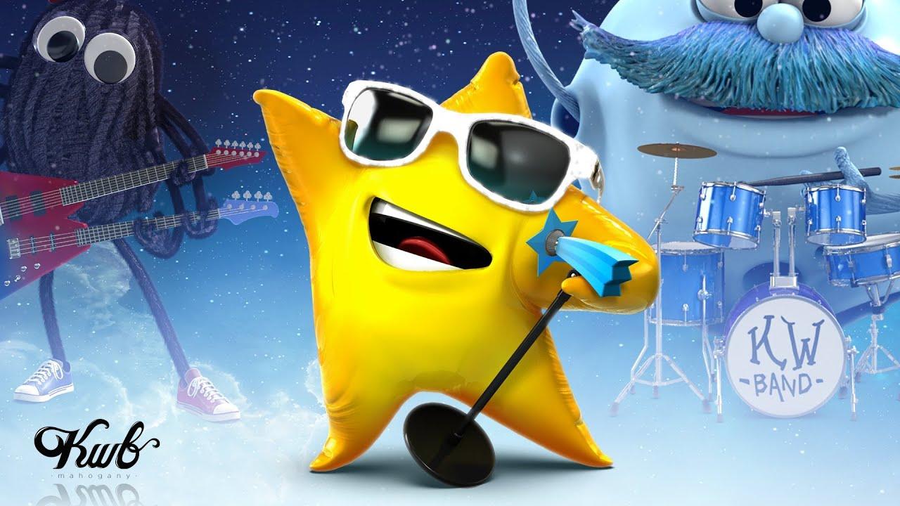 """Twinkle Twinkle Little Star""-best upbeat/rock animated characters!"