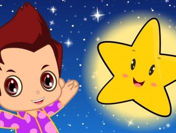 Twinkle Twinkle Little Star | English Nursery Rhymes | Magicbox English Kids Channel