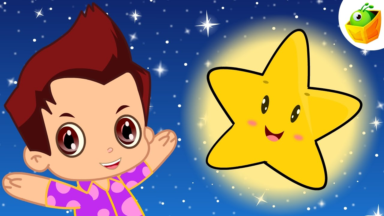 Twinkle Twinkle Little Star | English Nursery Rhymes | Magicbox English Kids Channel