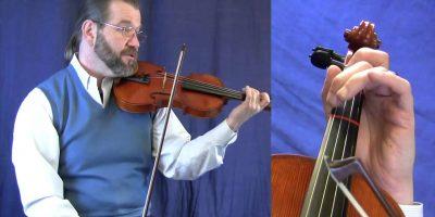 Beginning Violin Lesson – Twinkle Twinkle Little Star & 7 Variations