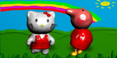Peppa Pig Nursery Rhymes Old Mcdonald Hello Kitty Twinkle,Twinkle Little Star