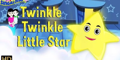 Twinkle Twinkle Little Star (HD) – Nursery Rhymes | Lullaby | Popular Kids Songs