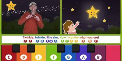 Twinkle Twinkle Little Star -Learn to Play on a Keyboard