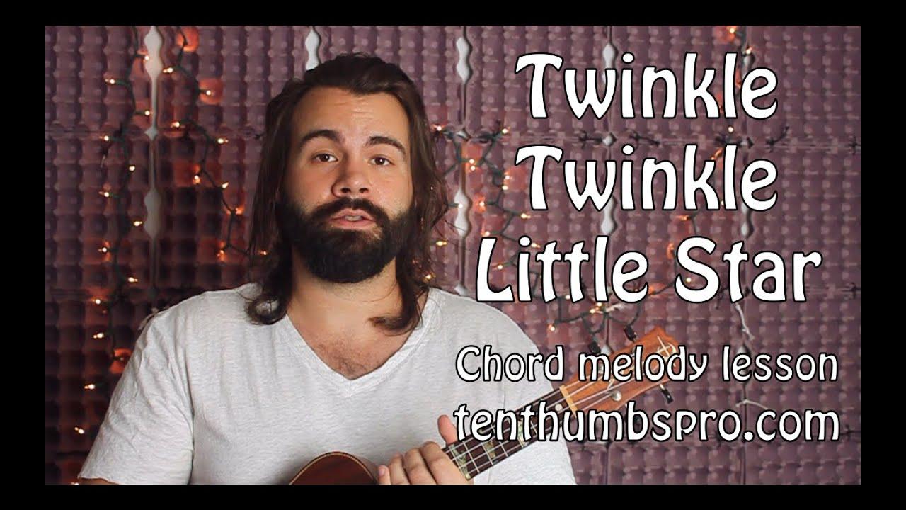 Twinkle Twinkle Little Star – Beginner Chord Melody Ukulele Lesson