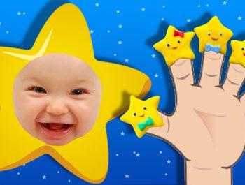 Twinkle Twinkle Little Star | FINGER FAMILY SONG ♫ | Nursery Rhyme