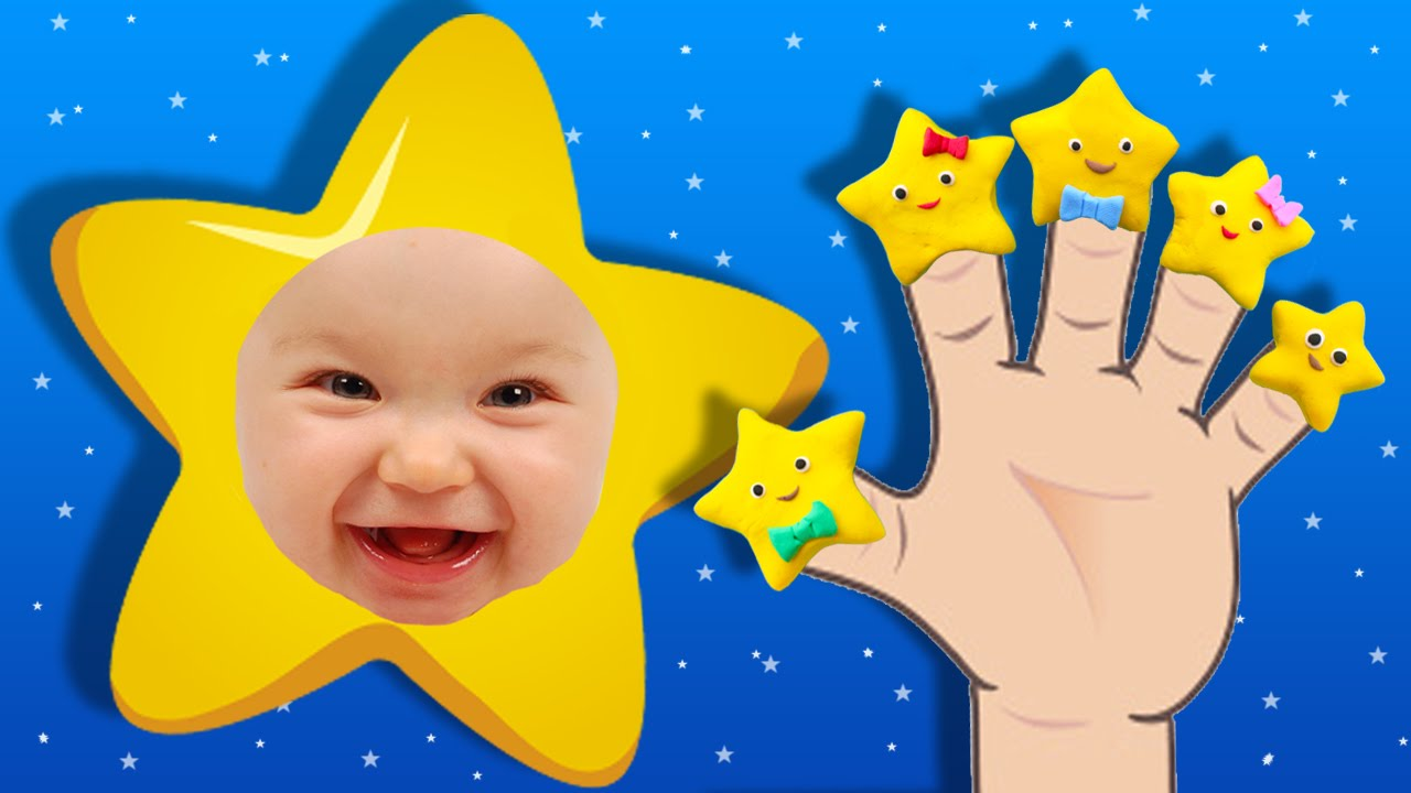 Twinkle Twinkle Little Star | FINGER FAMILY SONG ♫ | Nursery Rhyme