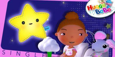 Twinkle Twinkle Little Star | Nursery Rhymes | By HuggyBoBo