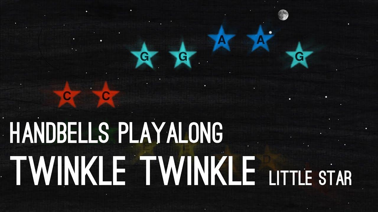 Twinkle Twinkle Little Star – Handbells Playalong