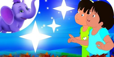 Twinkle Twinkle Little Star in Telugu