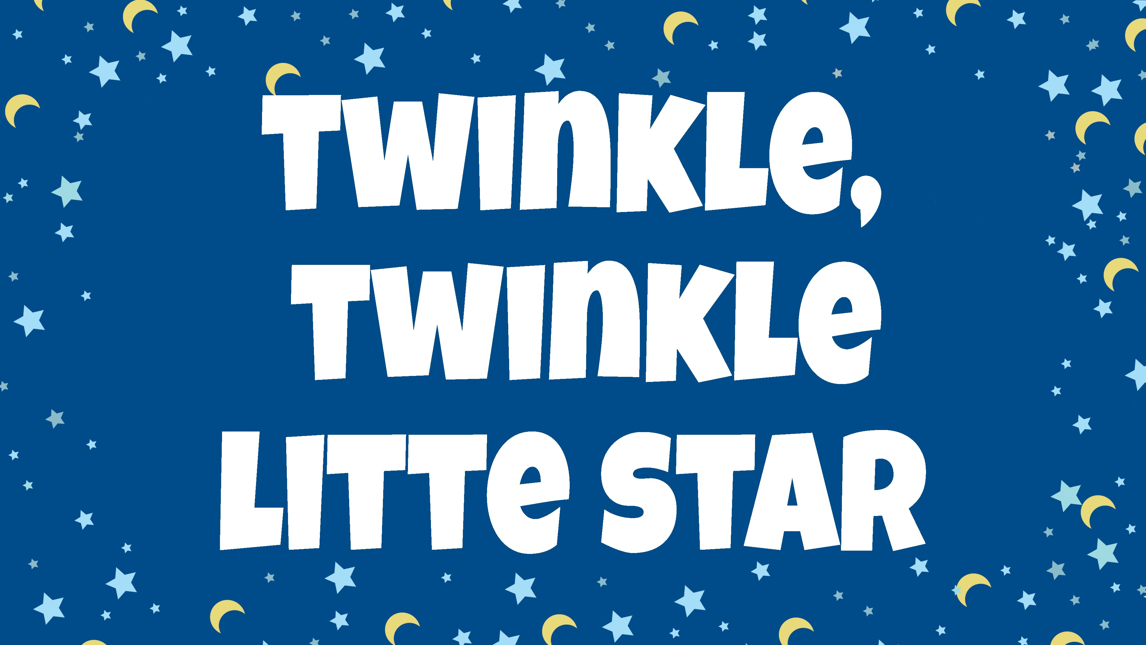 Twinkle Twinkle Little Star Lyrics | Nursery Rhymes | Children Love to Sing