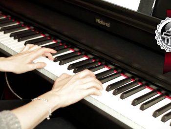 """MOZART – """"Twinkle, Twinkle, Little Star"""" Easy Piano Version"""