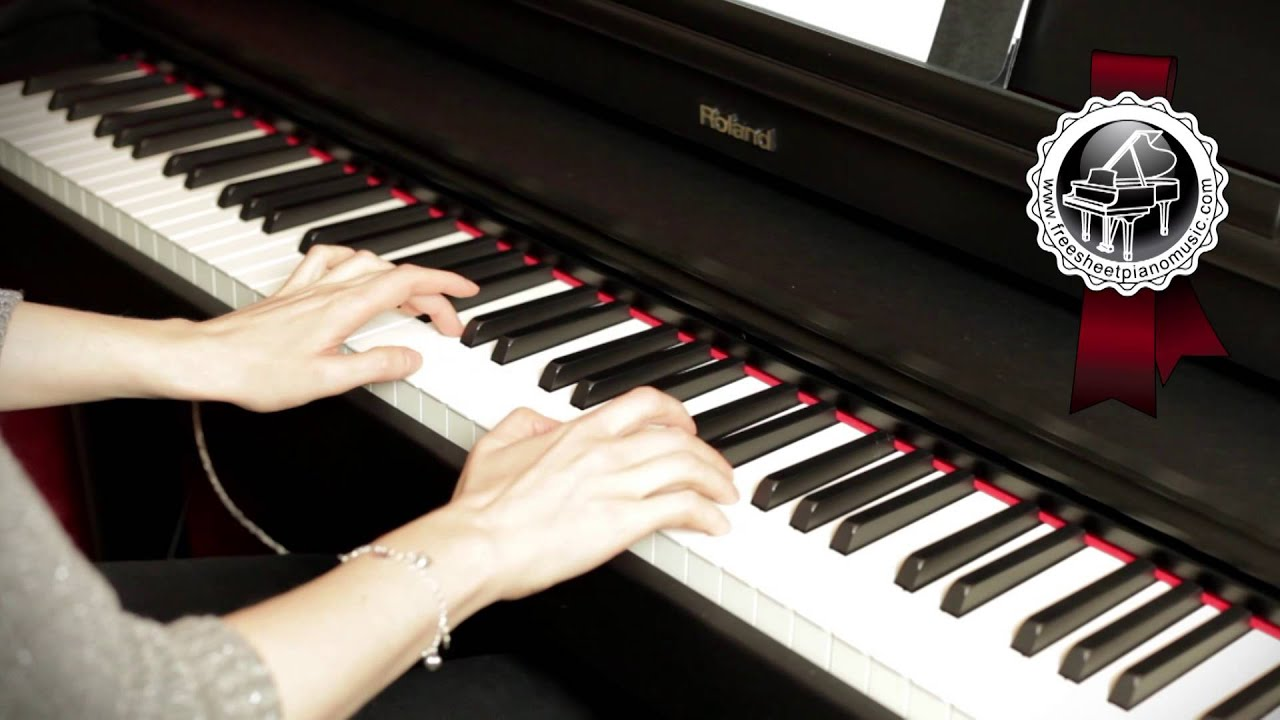 "MOZART – ""Twinkle, Twinkle, Little Star"" Easy Piano Version"