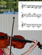 1 Twinkle, Twinkle, Little Star Variations / Suzuki Violin Libro 1