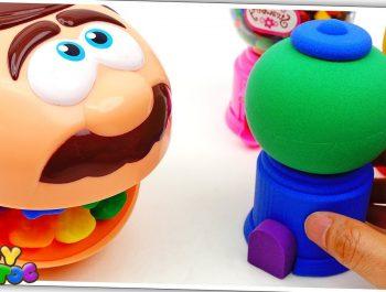 Twinkle Twinkle Little Star | Doctor Drill Learn Colors Rainbow Kinetic Sand Dispenser for Kids