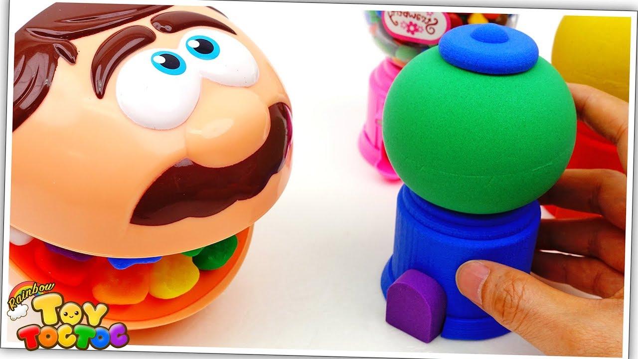 Twinkle Twinkle Little Star   Doctor Drill Learn Colors Rainbow Kinetic Sand Dispenser for Kids