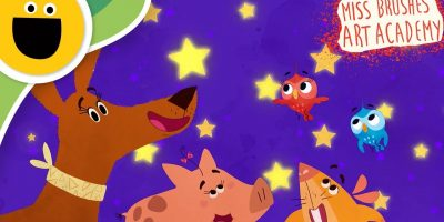 Twinkle Twinkle Little Star | Miss Brushes Art Academy (Sesame Studios)