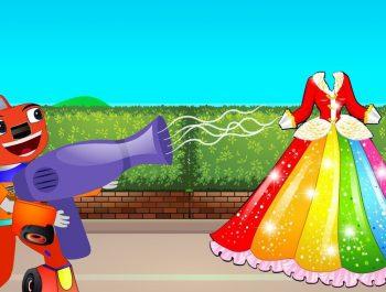 Blaze et les Monster Machines en Francais   Twinkle Twinkle Little Star   Dessin Animé Pour Enfant