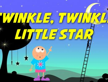 Twinkle Twinkle Little Star (instrumental – lyrics video for karaoke)