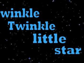 Twinkle Twinkle Little Star Song Lyrics