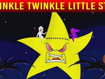 Twinkle Twinkle Little Star Halloween Special With Lyrics | Halloween Songs | Shemaroo Kids Junior