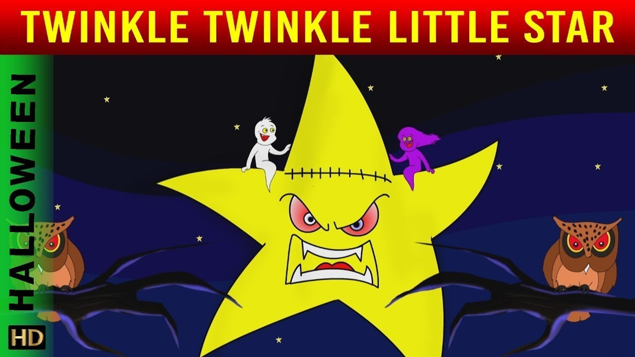 Twinkle Twinkle Little Star Halloween Special With Lyrics | Halloween Songs | Shemaroo Kids Junior