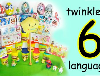 Twinkle twinkle little star in different languages with lyrics | Happy Children