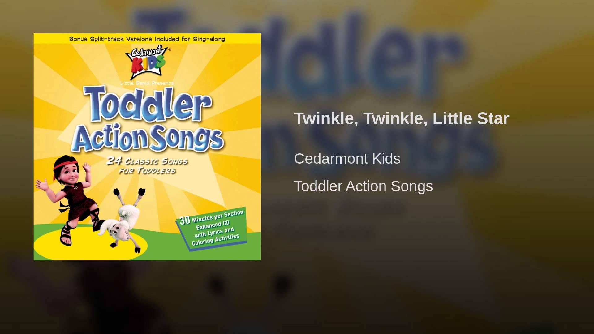 Twinkle, Twinkle, Little Star (Split-Track Format)