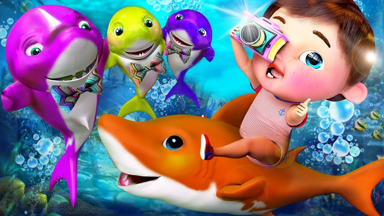 ? Baby Shark , The Wheels on the Bus , Johny Johny Yes Papa ,Twinkle Twinkle Little Star , ABC Songs