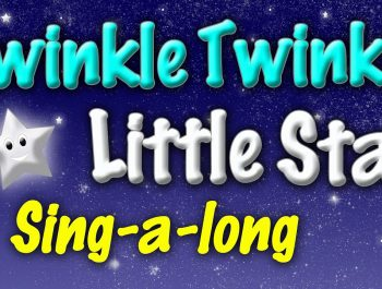 Twinkle Twinkle Little Star – Lyrics with Song – Sing Along – Lullaby Nursery Rhymes – Kids Songs