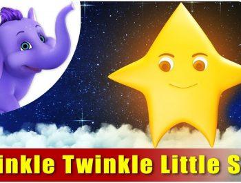 Twinkle Twinkle Little Star Nursery Rhyme in 4K | Marathi Rhymes From APPUSERIES