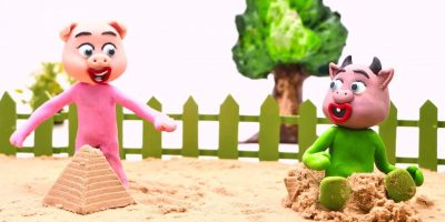 TWINKLE TWINKLE LITTLE STAR ? Baby Doll Sand Play ? Play Doh Cartoons For Kids Stop Motion Animati