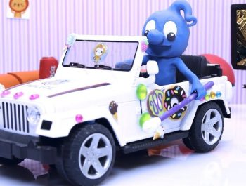 TWINKLE TWINKLE LITTLE STAR ? Baby New Car Toy ? Play Doh Cartoons For Kids Stop Motion Animations