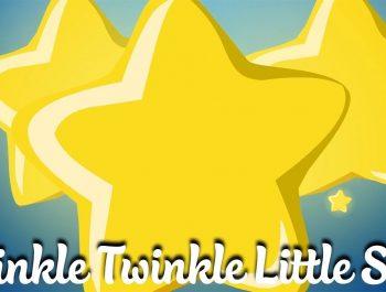 Twinkle Twinkle Little Star | 兒童卡通動畫 | 幼兒音樂歌曲 | 兒歌 | 童謠 | 動畫片