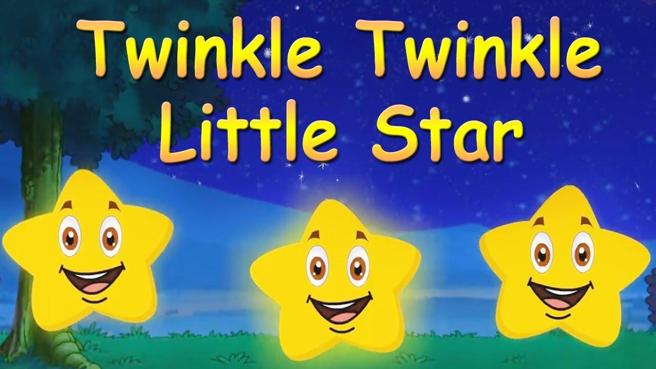 Twinkle Twinkle Little Star I Nursery Rhymes I Kids I Cartoon I Animation