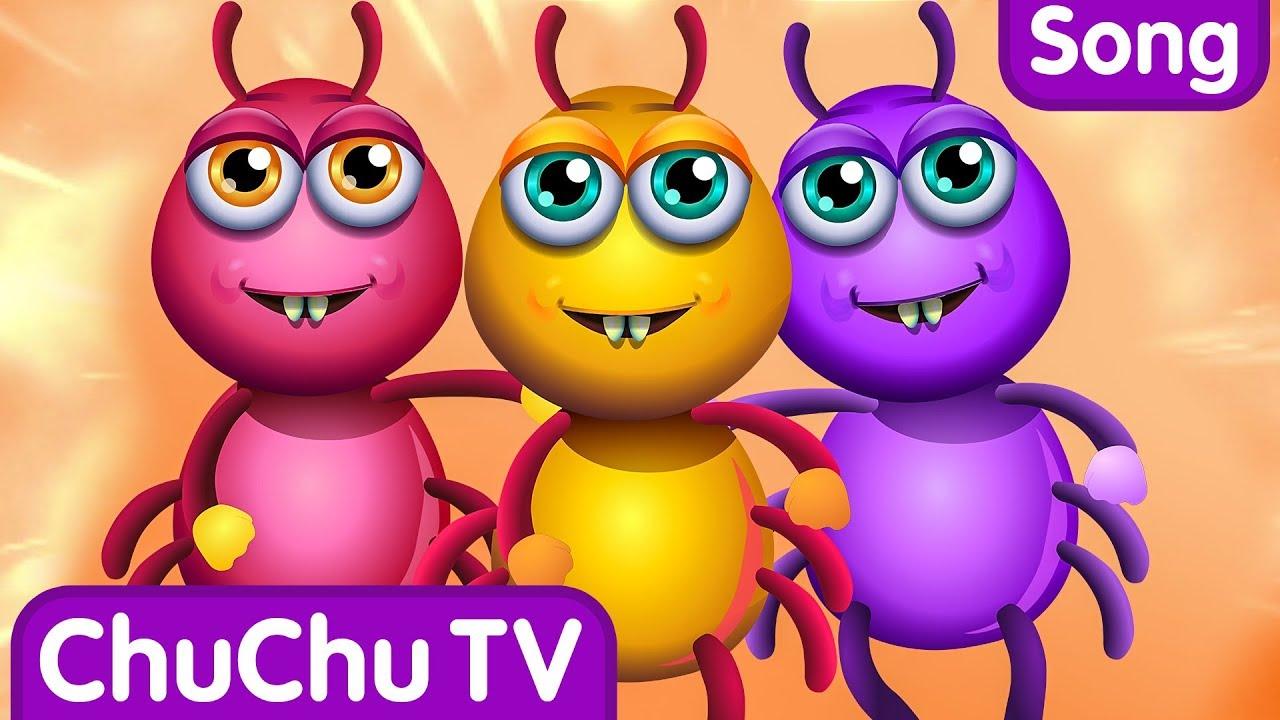 Incy Wincy Spider Nursery Rhyme With Lyrics – Cartoon Animation Rhymes & Songs for Children